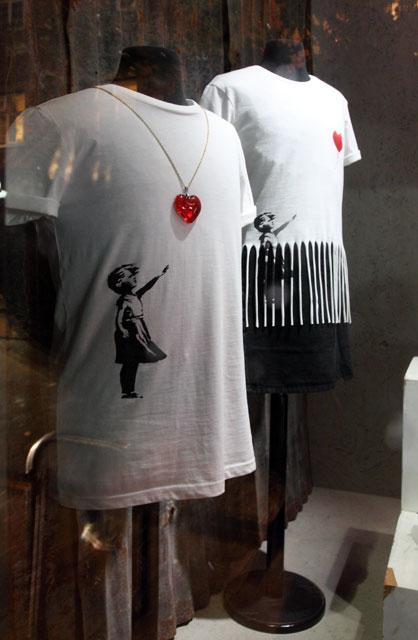 Banksy T Shirt