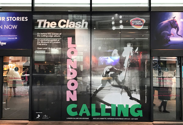 The Clash London Calling at the Museum of London