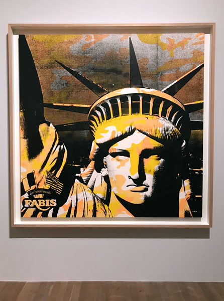 Andy Warhol - Statue of Liberty