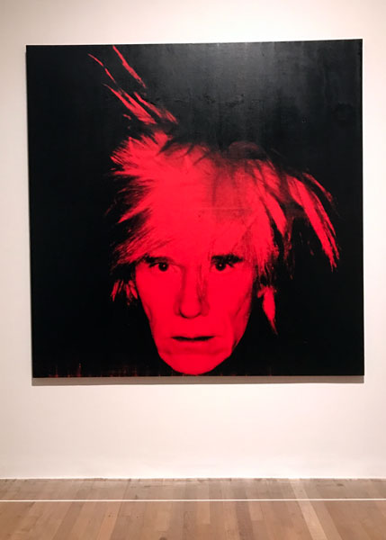 Andy Warhol - Self Portrait