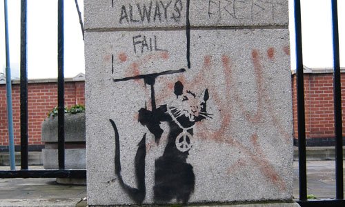 Banksy London Rats