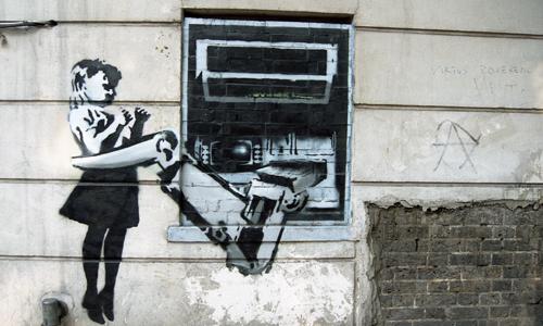 Banksy Graffiti Painter