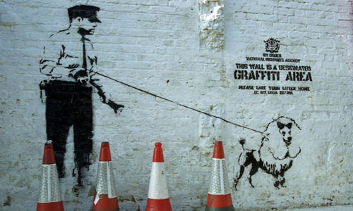 Banksy Cargo Years Work