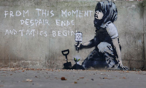 Banksy Extinction Rebellion