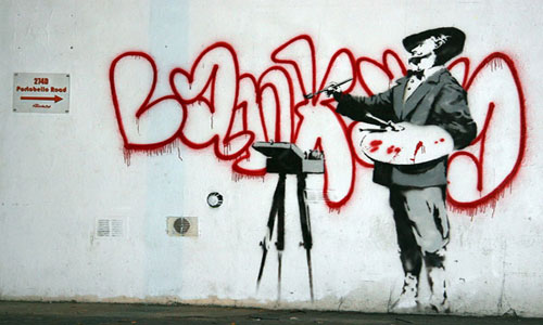Banksy Graffiti Painter