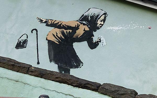 Banksy Aachoo