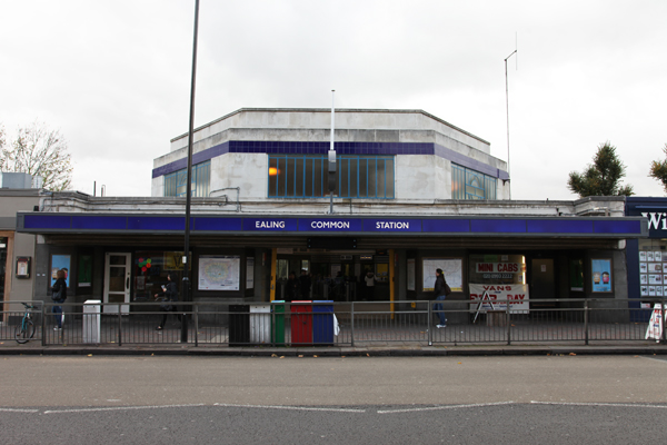 Ealing Common Station exterior