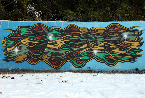 Jano Feltham Circles graffiti 2010