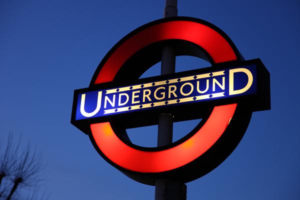 Northfields Underground Sign