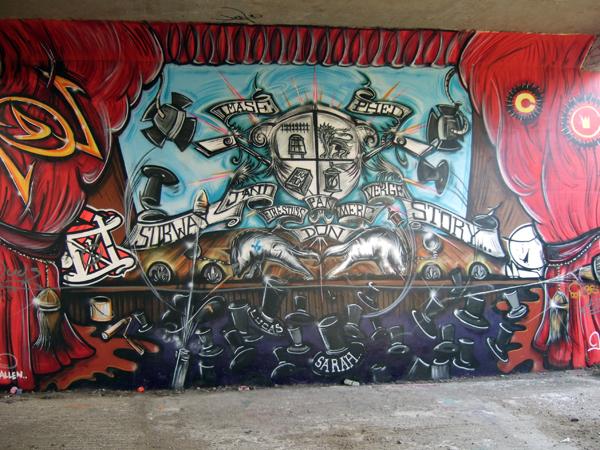 Jano - Subway Story - 2009 Hanworth Graffiti