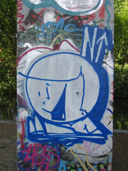 Jano New Haw graffiti 2005