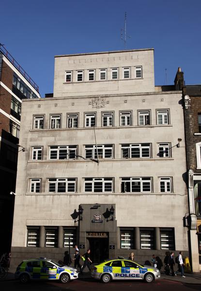 Liverpool Street Police Station