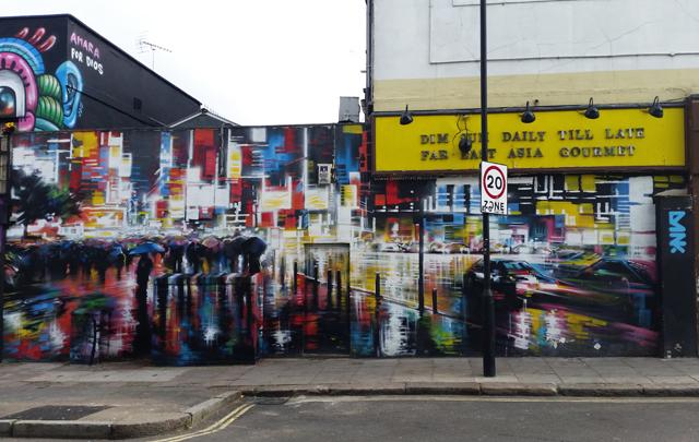 Dan Kitchener street art in London
