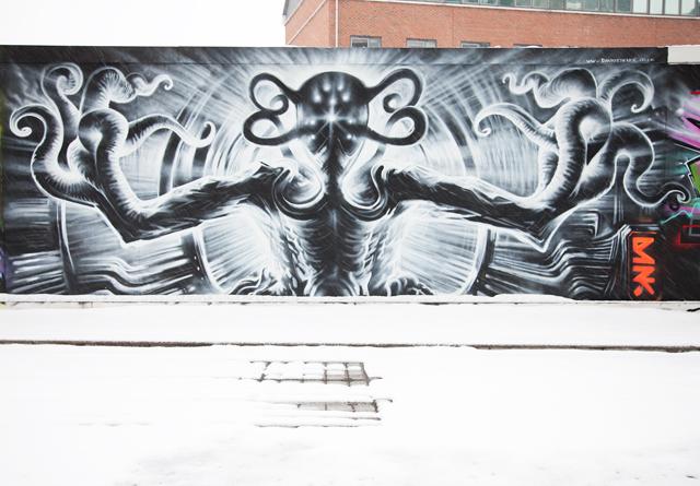Dan Kitchener, West London street art