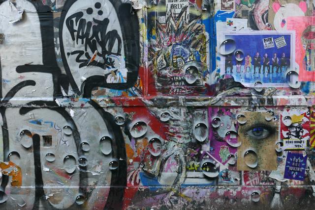 My Dogs Sighs - street art droplets
