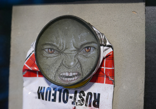 My Dog Sighs crushed can art