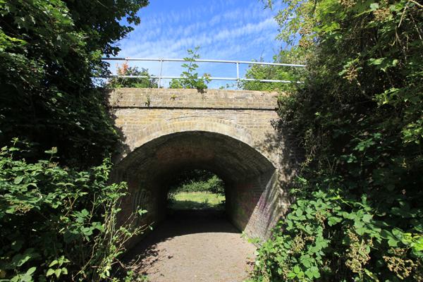 Disused railway bridge, Stanwell Moor
