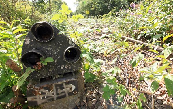 Ground signal, abandoned