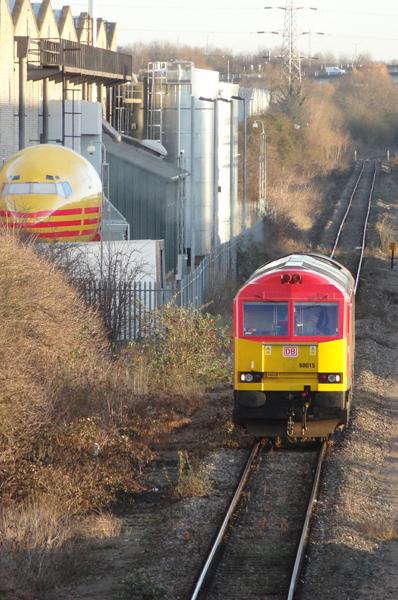 Colnbrook sidings