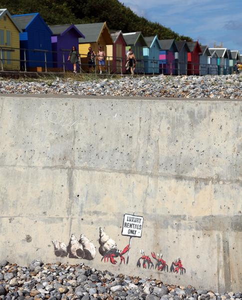 Banksy Cromer Crabs