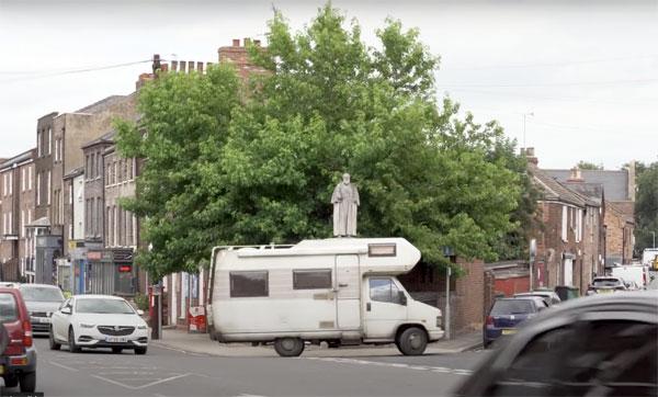 Banksy motorhome