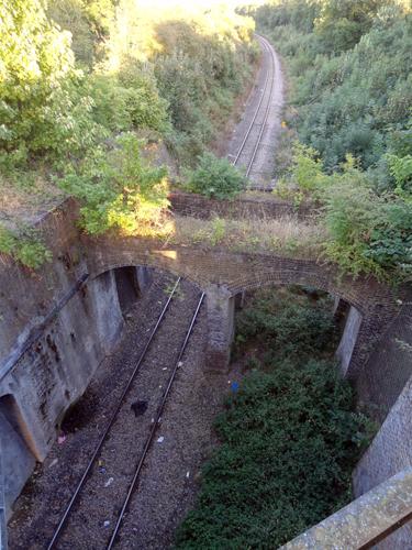 Southall railway bridges