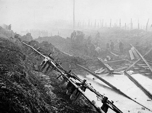 Feltham Marshalling Yards war damage