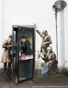 Banksy - Surveillance
