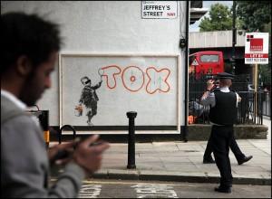Banksy - Tox writer