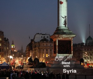 Banksy - Stand With Syria